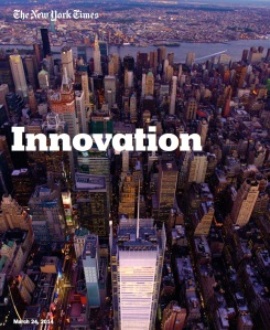 Cover, New York Times Innovation Report